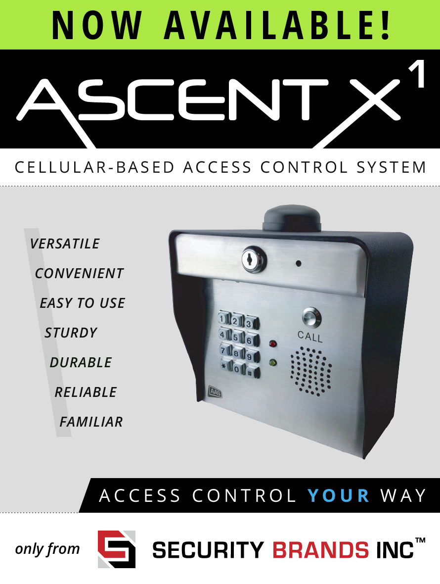 Introducing ASCENT X1 —Cellular-Based Access Control System