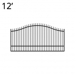 KIREG60E12S-estate-gate-12-feet-single-regal-front
