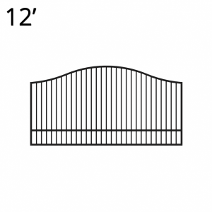 KIYUK60E12S-estate-gate-12-feet-single-yukon-front-600x600