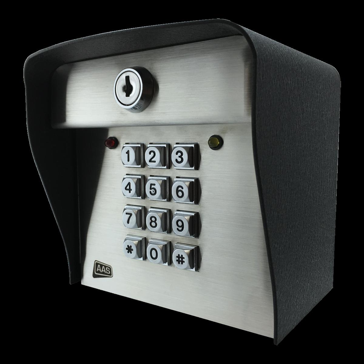 advantage dk digital keypad 1 000 codes post mount. Black Bedroom Furniture Sets. Home Design Ideas