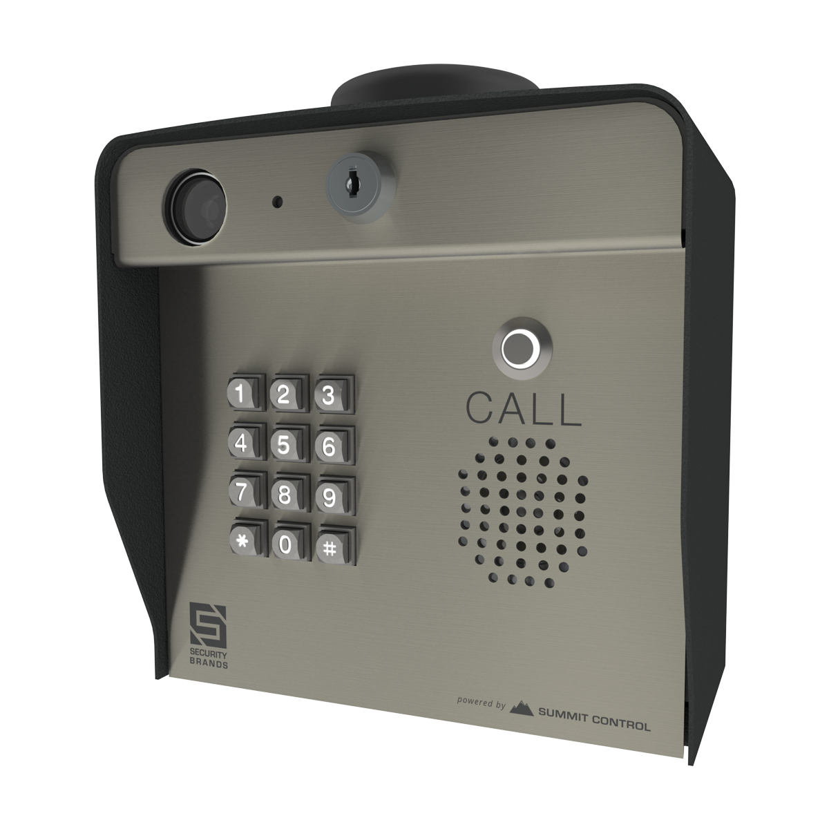 Ascent X1 Cellular Telephone Entry System With Keypad Security