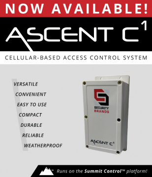 Introducing ASCENT C1 —Cellular-Based Access Control System